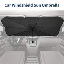 Umbrella Cover Car-Sunshade Windshield-Protection Sun-Blind Interior Front-Window