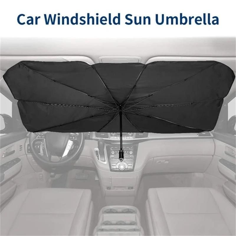 Car Sunshade Interior Front Window Sun Shade Cover UV Protector Sun Blind Umbrella for SUV Sedan Windshield Protection