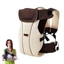 0 a 30 meses bebê estilingue respirável ergonômico portador de bebê frente carregando crianças canguru infantil mochila bolsa warp hip seat