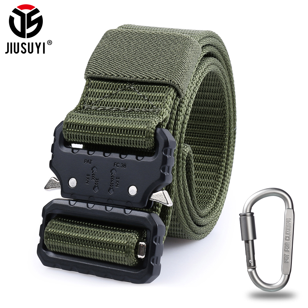 Tactical Utility Military Men Belt Airsoft Formal Cusual Police Combat Waist Strap SWAT Non-slip Strong Waistband Gear Equipment