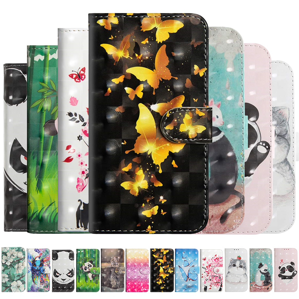 3D Cartoon <font><b>Case</b></font> For <font><b>Nokia</b></font> 8.1 <font><b>7.1</b></font> 6.1 5.1 3.1 2.1 7 Plus 2018 Cover PU Leather Flip Wallet <font><b>Case</b></font> for <font><b>Nokia</b></font> 4.2 3.2 2 3 5 6 8 9 image