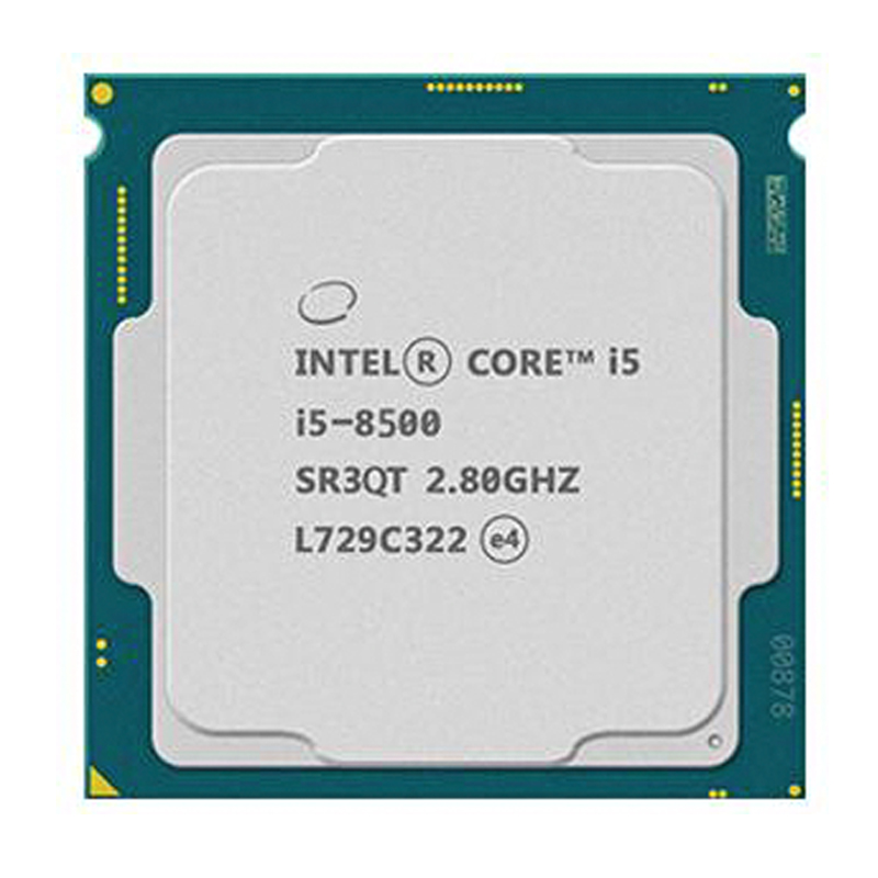 <font><b>Intel</b></font> PC computer Core i5 8500 series Processor I5-8500 <font><b>CPU</b></font> LGA <font><b>1151</b></font>-land FC-LGA 14 nanometers Six Core image