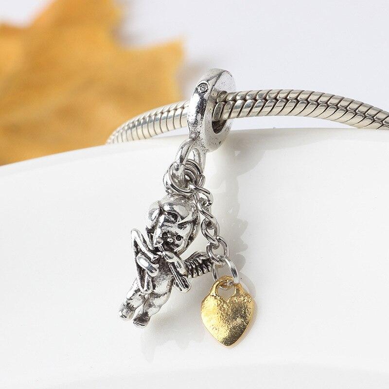 MAGNOLIA FLOWER CHARM Bead Sterling Silver.925 for European Bracelet 502