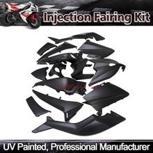 ZXMT  Motorcycle Fairing Kit For Yamaha TMAX 530 2012-2014 2013 ABS Injection Molded Matte Black Glossy