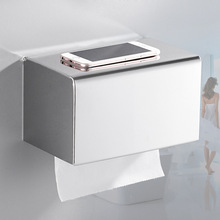Гостиничный Инжиниринг из нержавеющей стали, коробка для извлечения туалетной бумаги, водонепроницаемый рулонный стенд, дырокол, квадратная коробка для салфеток от производителей
