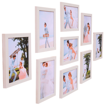 Simple modern living room photo wall decoration photo frame creative wall 7 inch nine bedroom combination European photo frame