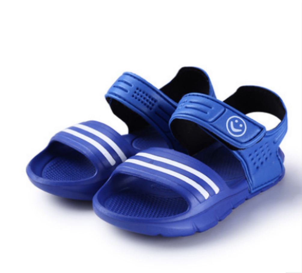 New 1 Pair Casual Children Kids Shoes Baby Boy Closed Toe Summer Beach Sandals Flat