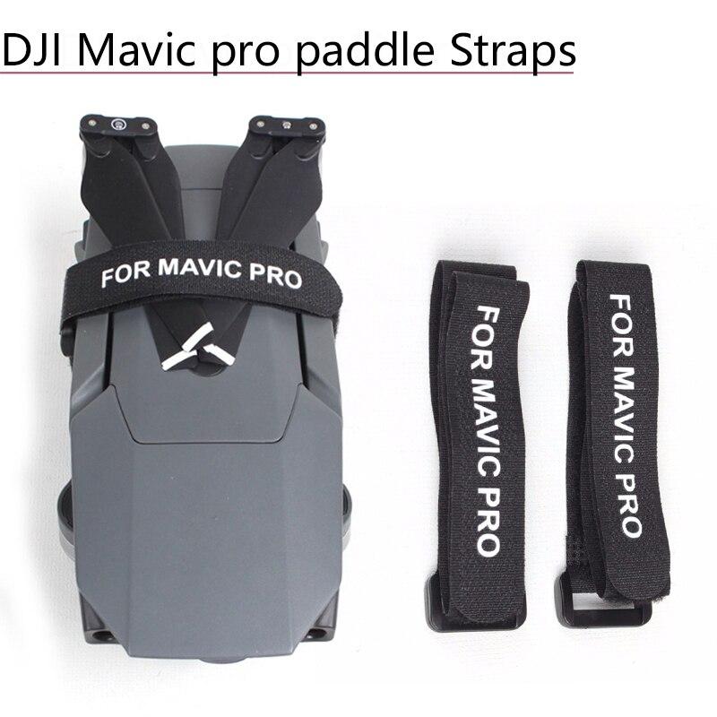 Propeller Blade Motor Fixer Magic Tape Fixing Strap Holder Hook Loop Cord Ties Belt For DJI Mavic 2 Pro Zoom Drone Accessories
