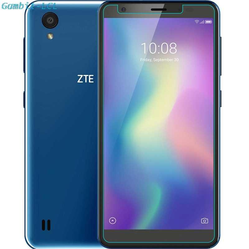 """خفف من الزجاج ل ZTE شفرة A5 2019 5.45 """"واقي للشاشة 9H 2.5D الهاتف شاشة واقية حامي غطاء"""