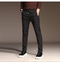 Mrmt 2021 marca outono e inverno calças masculinas estiramento calças casuais para o sexo masculino moda juventude calças moletom