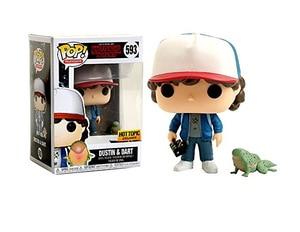 Image 5 - POP Stranger things little Eleven with eggos Dustin Dart Steve Dustin Snowball Dance PVC Action Figure toys for chlidren Gift