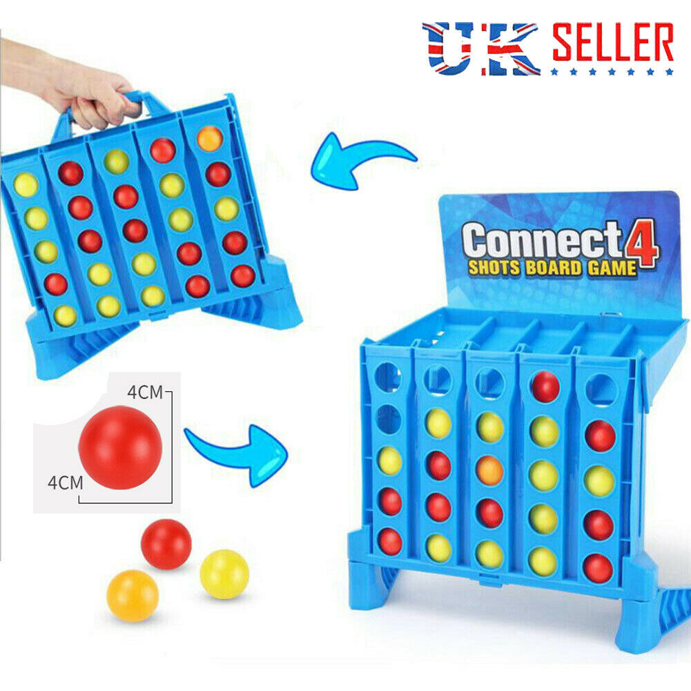 Universal Connect 4 Shots With Children Friends For Kids Xmas Gifts 25 Balls