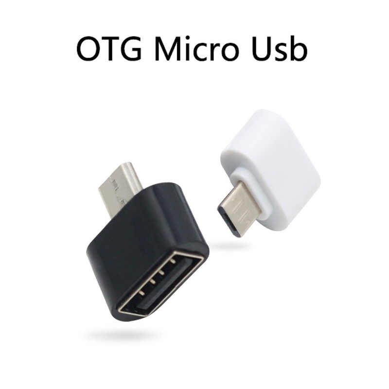 Mini OTG Convertitore Micro Usb A USB Adapter For Mobile Computer Tablet Dispositivi Esterni Connettore U-disk di Trasmissione Dati