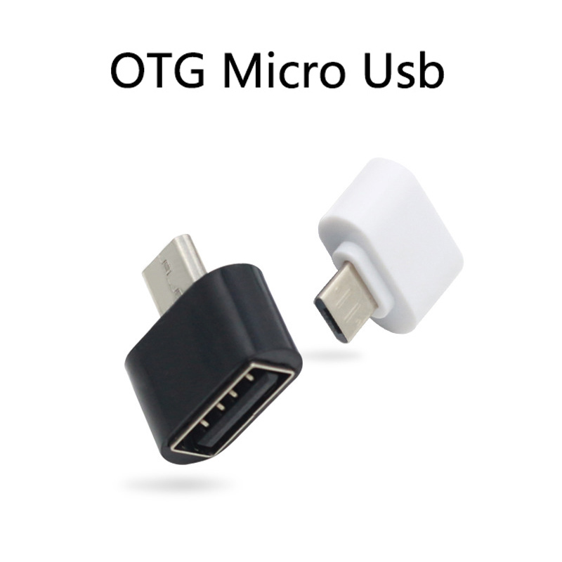 Mini OTG Converter Micro Usb To USB Adapter For Mobile Tablet Computer External Devices Connector U-disk Transmission Data