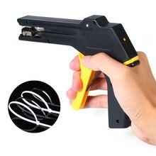 Кабельные стяжки автоматического натяжения отрезать пистолет инструмент крепление и режущий инструмент специально для пистолет для кабельных стяжек для изготовления нейлоновых кабельных стяжек