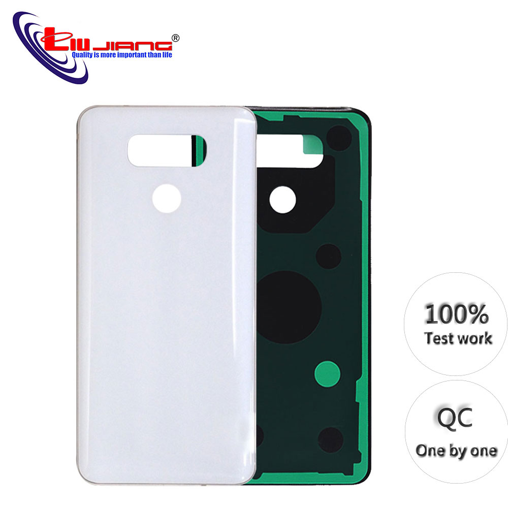 Original quality For <font><b>LG</b></font> <font><b>G6</b></font> Battery Case Back Glass Cover for <font><b>LG</b></font> <font><b>G6</b></font> H870 H871 H872 <font><b>H873</b></font> LS993 Battery Cover Rear Door Housing image
