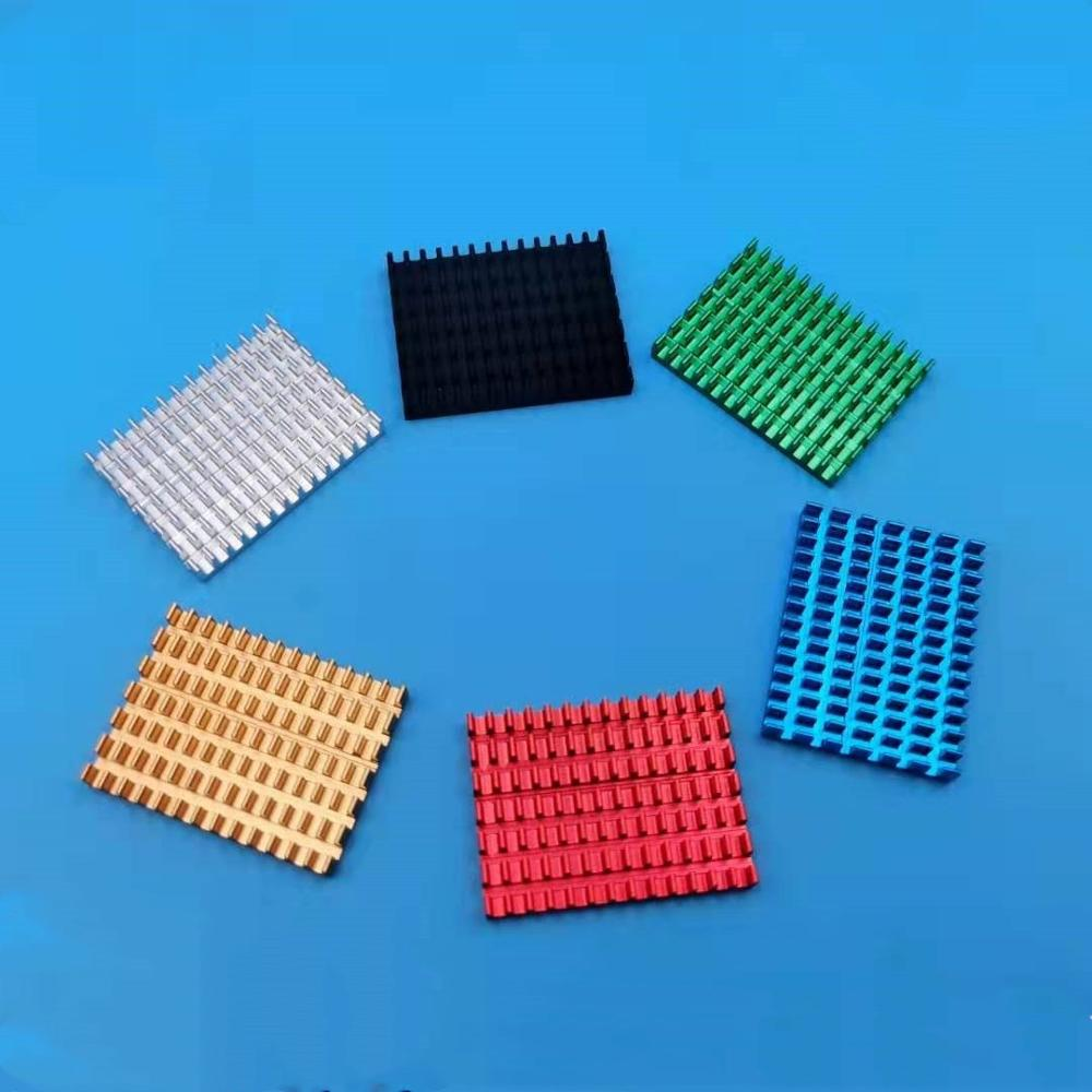 2pcs x 100*30*15mm Aluminum Heat Sink heatsink Chip for IC LED Power Transistor