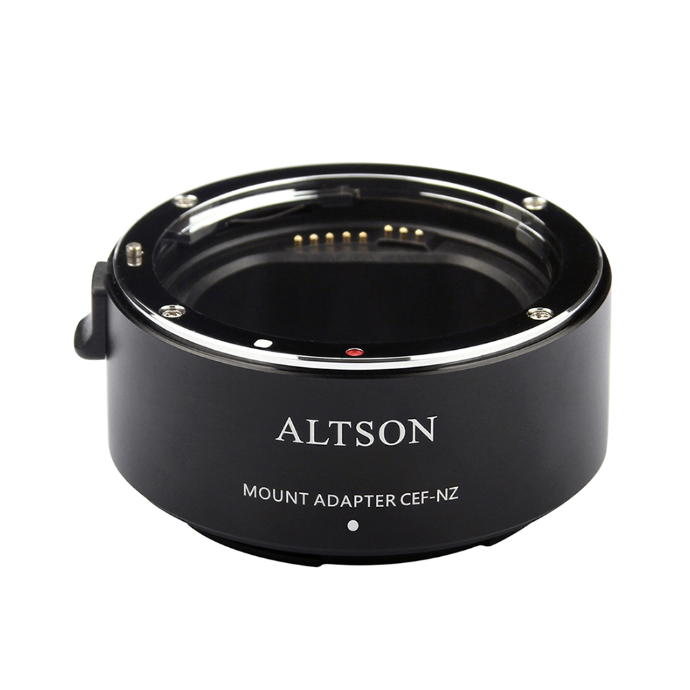 ALTSON Lens Mount Adapter Ring High Speed Auto Focus Stabilization USB for Canon EF/EF S Lens to Nikon Z6/Z7 Z mount CameraLens Adapter   -