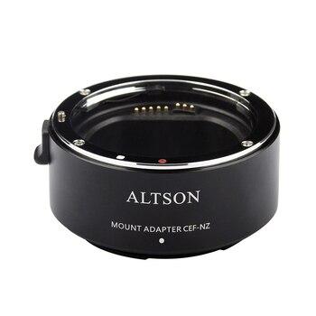 ALTSON Крепление объектива переходное кольцо высокая скорость автоматическая фокусировка стабилизация USB для Canon EF/EF-S объектив для Nikon Z6/Z7 z-крепление камеры