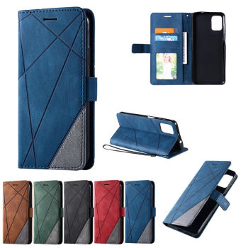 Luxury Flip Business Wallet Case For Motorola G9 Plus Shockproof PU Leather Shell for Moto G9 G 9 Play Stand Back Phone Cover