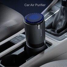 Car Air Purifier with Negative Ion Hepa Filter Fresh Portable USB Design Cigarette Smoke Ionizer Air Purifier for Car purifier 3 in 1 hepa filter negative ion air purifier air freshener for homes