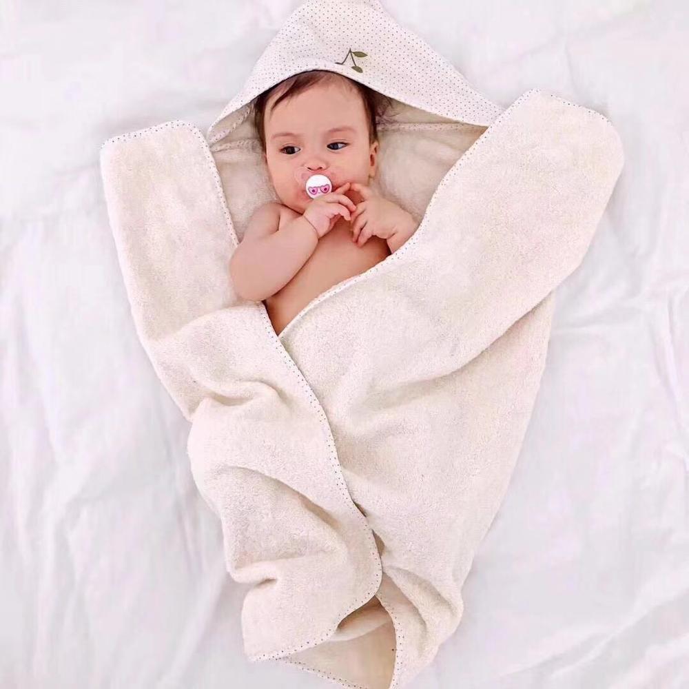 New born Baby Accesstoy cherry brand white Blanket