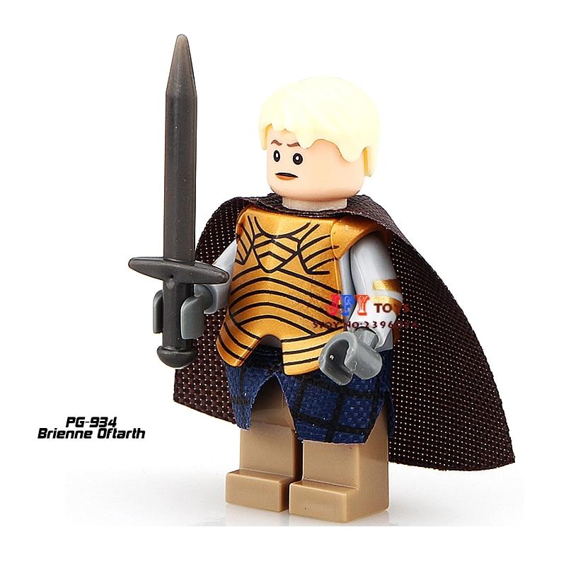 Single Sale Superhero Game Of Thrones Brienne Oftarth Building Blocks Model Bricks Toys For Children