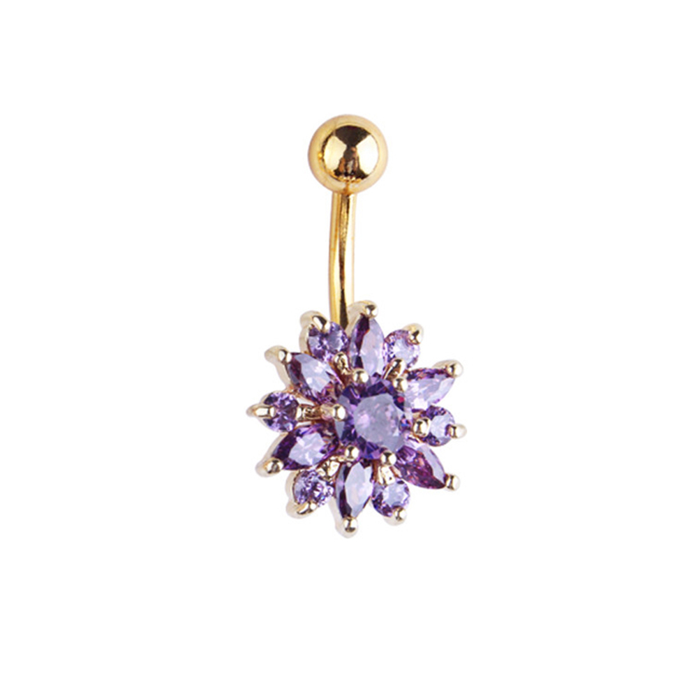Hb3bb9e5e6c1f48ab8d15185d555ee2084 Navel Piercing Body Jewelry Crystal Flower Belly Button Ring
