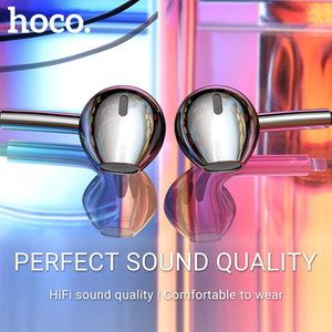 Image 3 - hoco earphone headset 3.5mm wire in ear earphone with microphone for xiaomi samsung hifi earphones with mic mini ear phone 3.5
