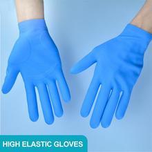 Wielokrotnego użytku rękawice silikonowe rękawice nitrylowe wielofunkcyjne czyszczenie Guantes Nitrilo wodoodporne rękawice ochronne tanie tanio