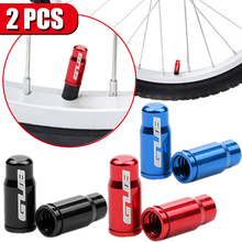 Tire-Valve-Cap Bicycle-Accessories Vacuum-Tire-Law-Mouth-Nut Aluminum with 2pcs