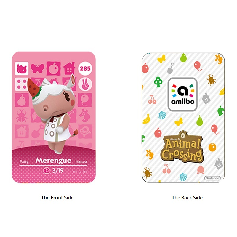 Animal Crossing Card Amiibo Card Work for NS Games Rosie Amibo Welcome Stickers Ankha Switch NFC Series 4 (391 to 400) 2