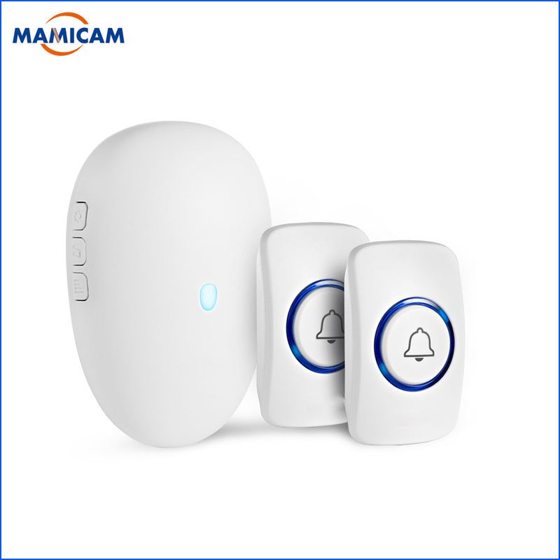 Smart Wireless Doorbell 57chime Home Security Welcome Doorbell Waterproof 100m Remote Wireless Button