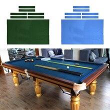 Набор из 2 8ft профессиональный бильярдный стол из войлока с 12 шт войлочными полосками Замена для комнатной игровой комнаты