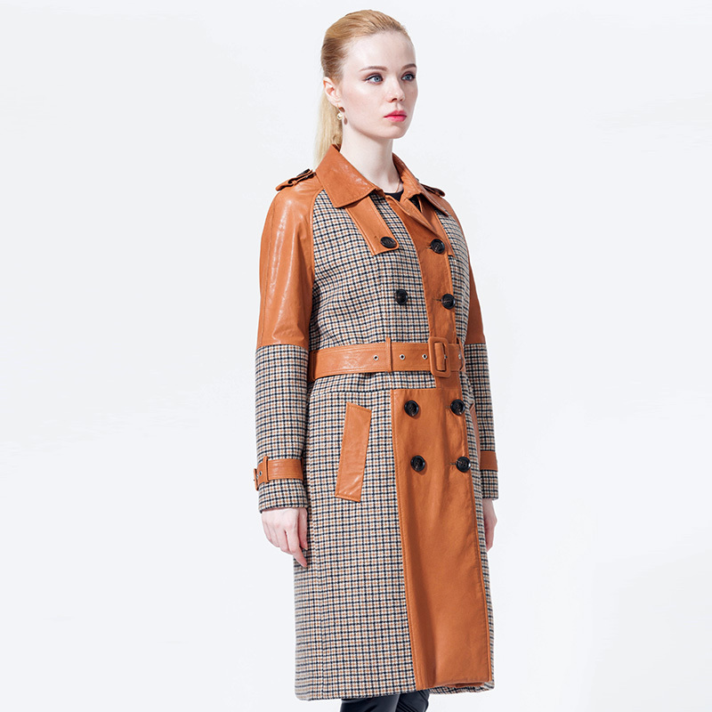 Autumn Winter Coat Women Clothes 2020 Real Genuine Leather Jacket Women Clothes 2020 Korean Vintage Sheepskin Coat ZT3765
