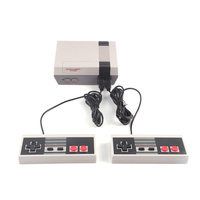Мини Ретро Классическая видеоигра консоль встроенный 620 игр 8 бит PAL и NTSC семья ТВ Портативный игровой плеер двойные геймпады