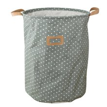 35x35x45cm Pastoral Laundry Basket With Cover Washing Laundry Bag Hamper Storage Dirty Clothing Bags Toy Storage Bag UIE629