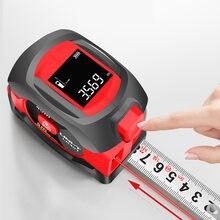 UNI-T Laser Measuring Tape Measure 40M Digital Distance Meter Rangefinder Retractable 5m Laser Ruler Trena a laser Professional
