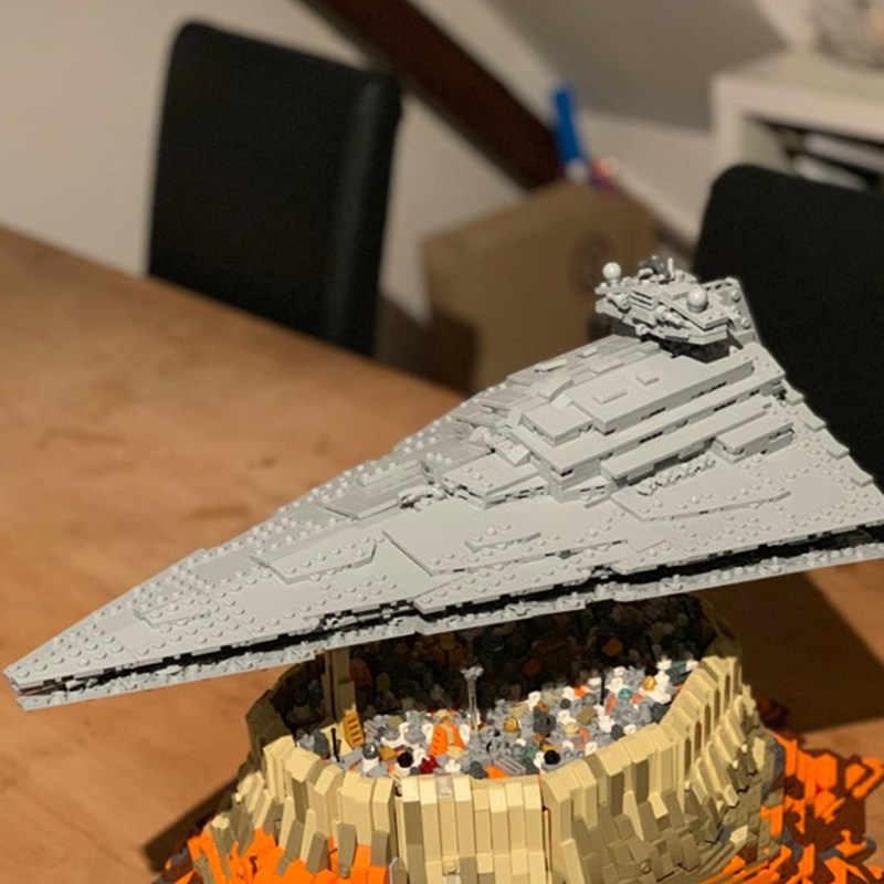 MOC MOC-18916 star Primo Ordine Destroyer star wars L'impero Sopra Jedha Fit Legoings star Wars Modello di Costruzione di Blocchi di Mattoni giocattoli