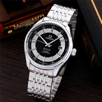 Omega- Luxury Brand Ceramic Bezel Mens Mechanical 007 Automatic Movement Men Watch Designer Watches Wristwatches 4663