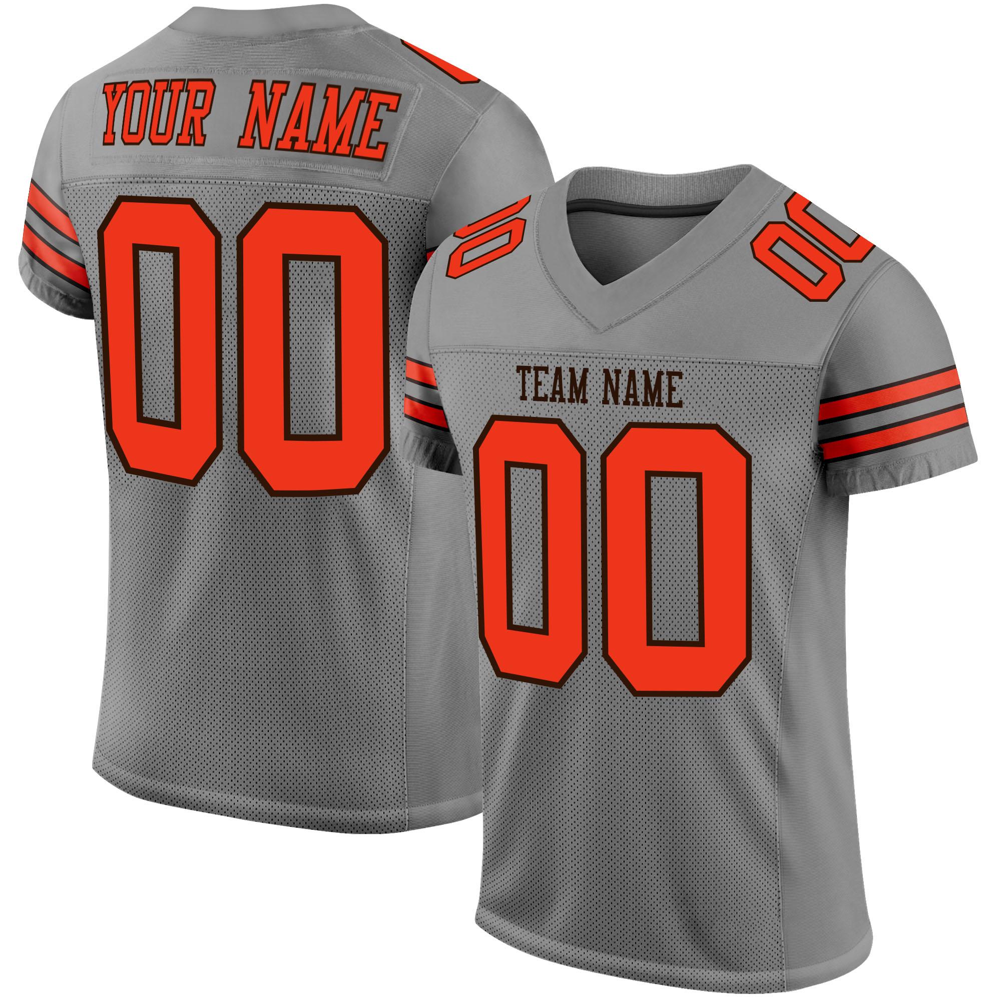 maillot football americain, chemises à demi boutons, lettres et chiffres cousus