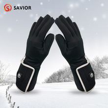 Heating-Gloves Bicycle Riding Touch-Screen Warm Outdoor Sport Winter SAVIOR Liner