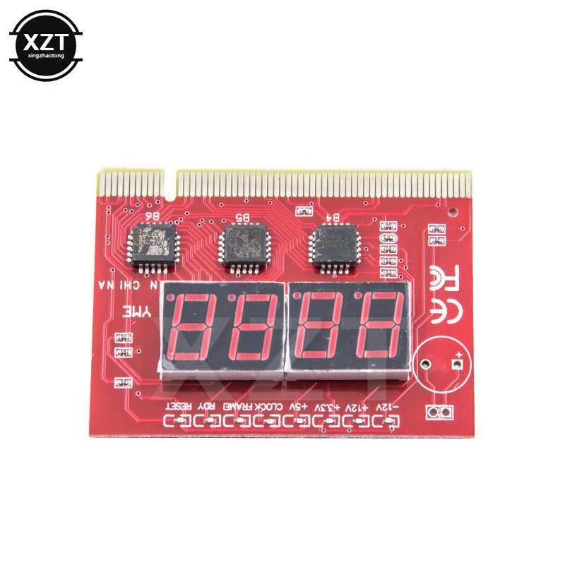 Nuevo PCI PC ordenador placa madre depuración Post tarjeta analizador comprobador de placa base LED 4 dígitos Pantalla de diagnóstico para PC de escritorio EM88
