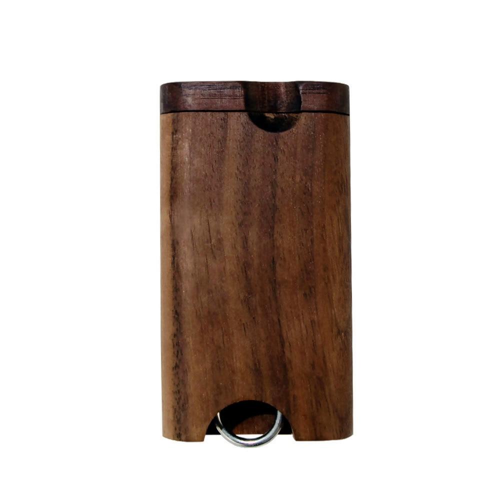 COURNOT из натурального дерева Dugout с керамической один htter летучая мышь труба 46*78 мм мини деревянная Dugout Box дымовая труба аксессуары Органайзер коробка