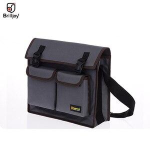 Image 3 - Wielofunkcyjna torba pojedyncza torba na ramię sprzęt elektryk Toolkit torba na narzędzia wodoodporna odporna na zużycie tkanina Oxford