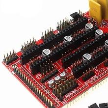 Части Щит 3d принтер экструдер прочный привод компонент контроллер Аксессуары для плат универсальность панели для RepRap RAMPS 1,4