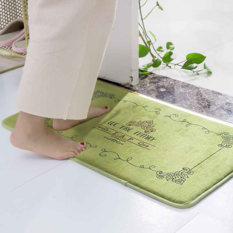 Thicken Foam Saloon Foyer Mats Anti Fatigue Rugs Dining Room Kitchen Carpet Table Bedside Footcloth