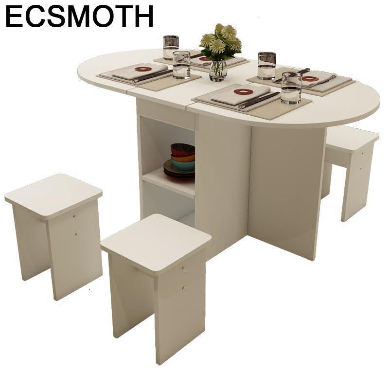 Comedor Eettafel Redonda Meja Makan Sala Set Tafel Tavolo Da Pranzo Vintage Folding Desk Tablo Mesa De Jantar Dining Table