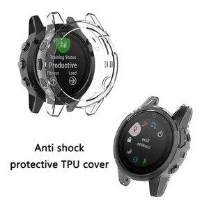 Image 3 - TPU ป้องกันสำหรับ Garmin Fenix 5 5S PLUS Smart Watch อุปกรณ์เสริมป้องกันการกระแทกเปลือกป้องกันฝุ่น