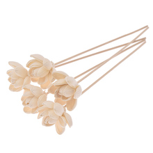 Sticks Flower Rattan No-Fire-Aroma-Diffuser Home 2PCS 5PCS Water-Lily Living-Room